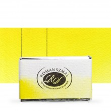 Roman Szmal : Aquarius : Watercolour Paint : Full Pan : Lemon Yellow
