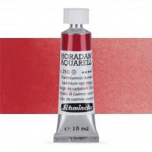 Schmincke : Horadam Watercolor Paint : 15ml : Cadmium Deep Red