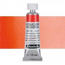 Schmincke : Horadam Watercolor Paint : 15ml : Permanent Red Orange