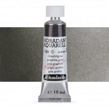Schmincke : Horadam Watercolor Paint : 15ml : Graphite Grey