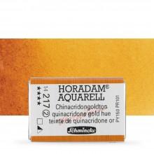Schmincke : Horadam Watercolor Paint : Full Pan : Quinacridone Gold Hue