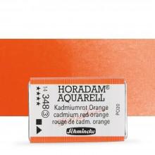 Schmincke : Horadam Watercolor Paint : Full Pan : Cadmium Red Orange