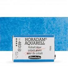 Schmincke : Horadam Watercolor Paint : Full Pan : Cobalt Azure