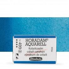 Schmincke : Horadam Watercolor Paint : Full Pan : Cobalt Cerulean
