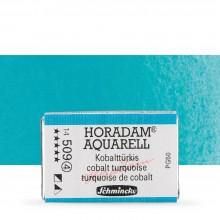 Schmincke : Horadam Watercolor Paint : Full Pan : Cobalt Turquoise