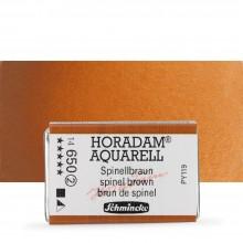 Schmincke : Horadam Watercolor Paint : Full Pan : Spinel Brown