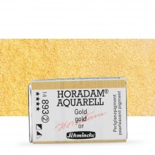 Schmincke : Horadam Watercolor Paint : Full Pan : Gold
