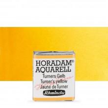 Schmincke : Horadam Watercolor Paint : Half Pan : Turner's Yellow