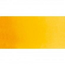 Schmincke : Horadam Watercolor Paint : Half Pan : Indian Yellow