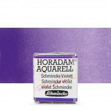 Schmincke : Horadam Watercolour : Half Pan : Schmincke Violet (Mauve)