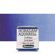 Schmincke : Horadam Watercolor Paint : Half Pan : Delft Blue