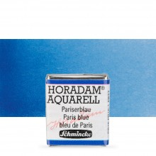 Schmincke : Horadam Watercolor Paint : Half Pan : Paris Blue