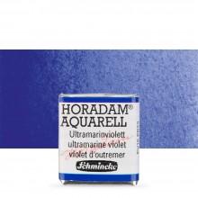 Schmincke : Horadam Watercolor Paint : Half Pan : Ultramarine Violet