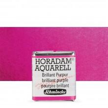 Schmincke : Horadam Watercolor Paint : Half Pan : Brilliant Purple