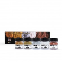 ShinHan : Pro : Metallic Powder : 30ml (15-20g) : Set of 5