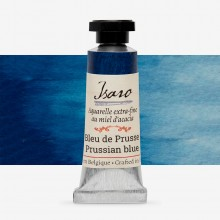 Isaro : Watercolor Paint : 7ml : Prussian Blue