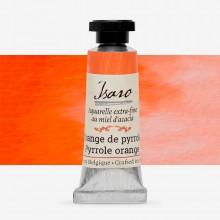 Isaro : Watercolor Paint : 7ml : Pyrrole Orange