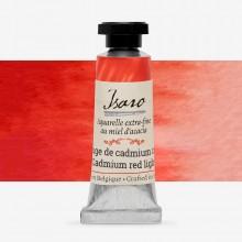 Isaro : Watercolor Paint : 7ml : Cadmium Red Light