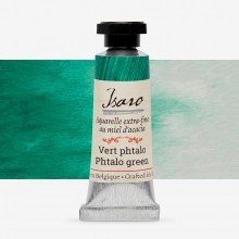 Isaro : Watercolor Paint : 7ml : Phtalo Green