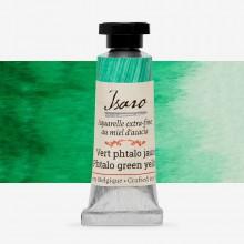 Isaro : Watercolour Paint : 7ml : Phtalo Green Yellow