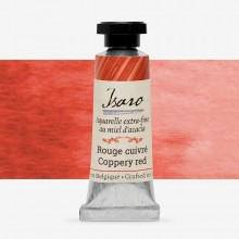 Isaro : Watercolor Paint : 7ml : Coppery Red