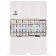 Schmincke : Horadam Watercolor Paint : Set Of 24 Full Pans