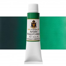 Turner : Artist's Watercolor Paint : 15ml : Phthalo Green Blue Shade