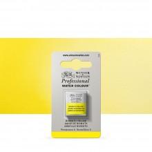 Winsor & Newton : Professional Watercolor : Half Pan : Bismuth Yellow