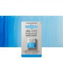 Winsor & Newton : Professional Watercolor : Half Pan : Manganese Blue Hue