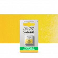 Winsor & Newton : Professional Watercolor : Half Pan : Cadmium-Free Yellow