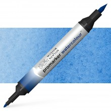 Winsor & Newton : Watercolor Marker : Phthalo Blue (RS)