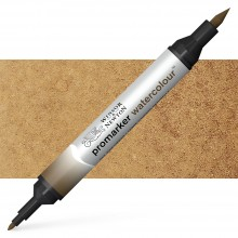 Winsor & Newton : Watercolor Marker : Raw Umber