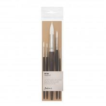 Jackson's : Artica : White Toray : Synthetic Brush : Set of 5