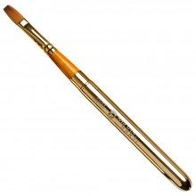 Pro Arte : Prolene Plus : Retractable (Collapsible) Flat Brush : Size 10