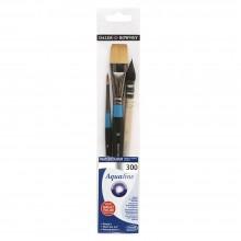 Daler Rowney : Aquafine Watercolor Brushes : Wallet Sets