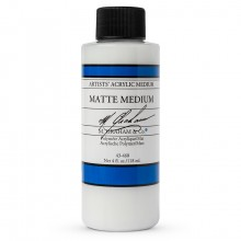 M. Graham : Artist's Acrylic Medium : 118ml : Matte Medium