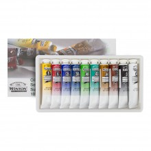 Winsor & Newton : Winton Oil Paint : Set Of 10x21ml
