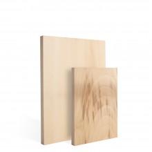 Japanese Katsura : 13mm : Side Grain Wood Block