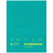 Stonehenge : Multi Color Drawing Pad : 15 Sheets : 9x12in (23x30cm)