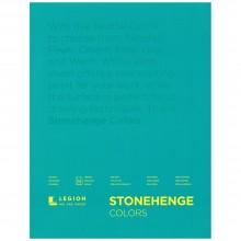 Stonehenge : Multi Color Drawing Pad : 15 Sheets : 11x14in (28x35cm)