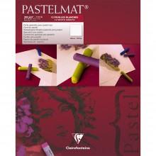 Clairefontaine : White Label : Pastelmat Pad : 24x30cm : 12 Sheets 360gsm