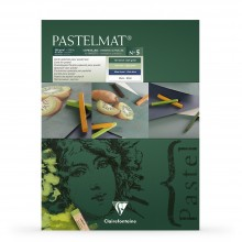 Clairefontaine : No.5 Green Label : Pastelmat Pad : 30x40cm : 12 Sheets : 360gsm