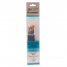 Winsor & Newton : Foundation Watercolor Brush Sets