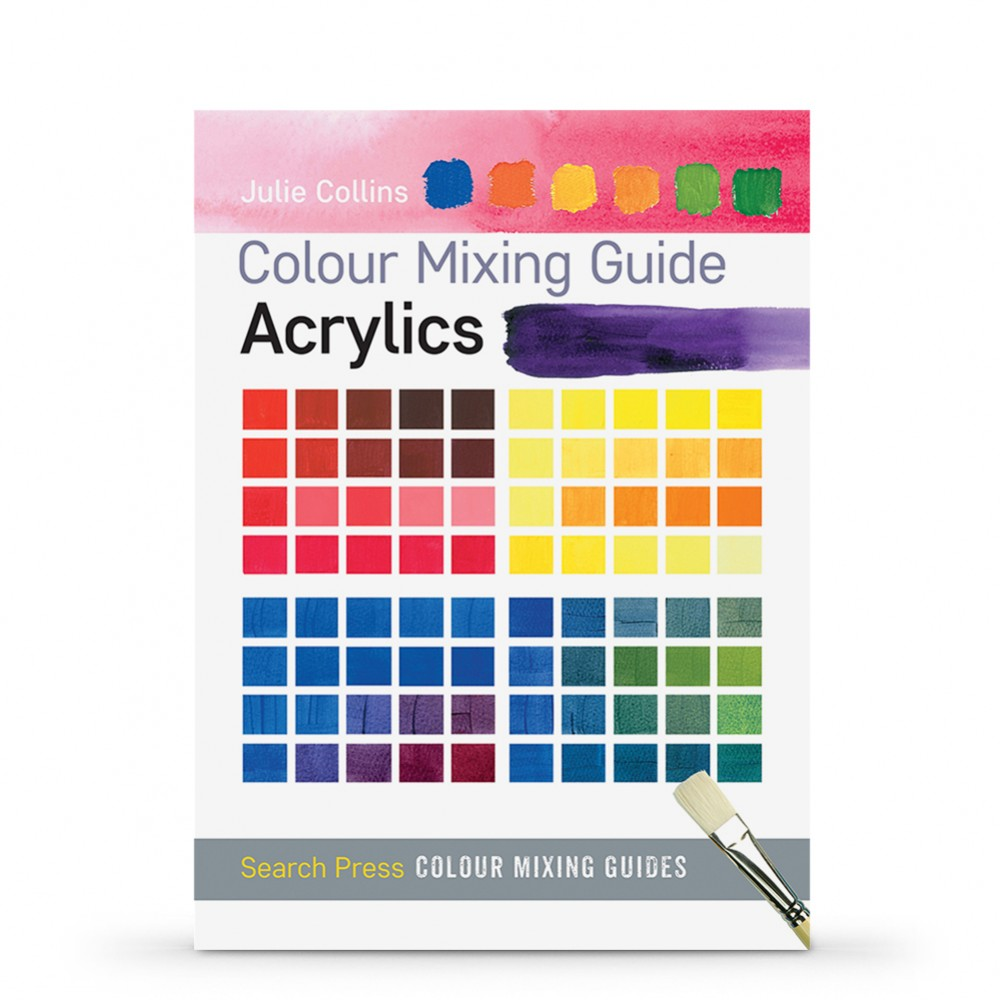 Colour Mixing Guide: Acrylics : Book by Julie Collins