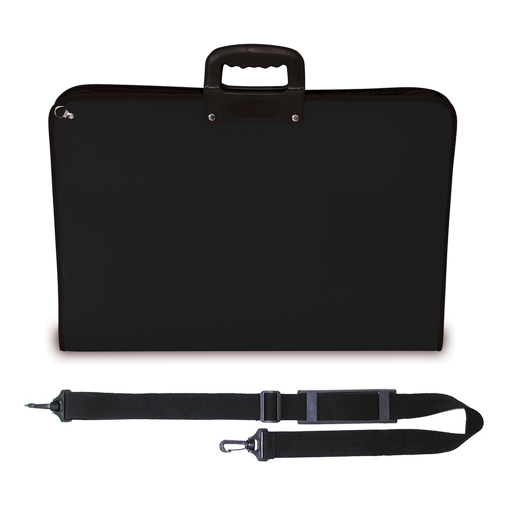 Mapac : A1 Academy Case : Black : Shoulder Strap Included
