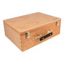 Jackson's : 4 Tray Wooden Pastel Box 14in.x10in.x6in.