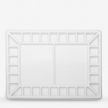 Jackson's : Porcelain Palette With Cover : 32 Well : 29x40x4.5cm
