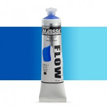 Derivan : Matisse Flow : Acrylic Paint : 75ml : Cobalt Blue