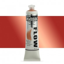 Derivan : Matisse Flow : Acrylic Paint : 75ml : Metallic Bronze