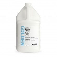 Golden : Matte Medium : 3780ml